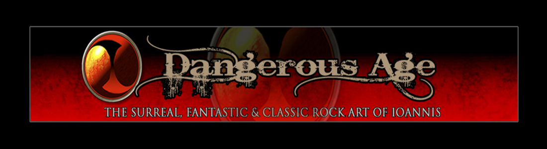 dangerous age the classic rock artwork of ioannis paidas management